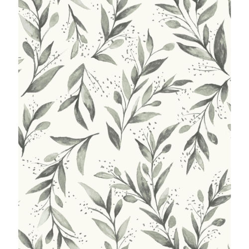 Magnolia Home Charcoal Branch Peel and Stick Wallpaper