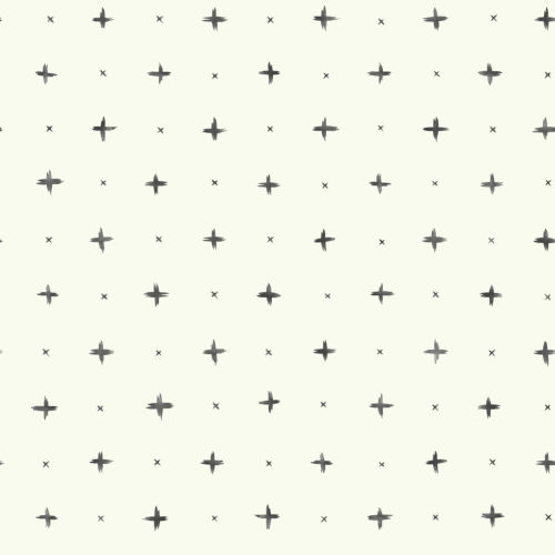 Magnolia Home Black Cross Stitch Peel and Stick Wallpaper