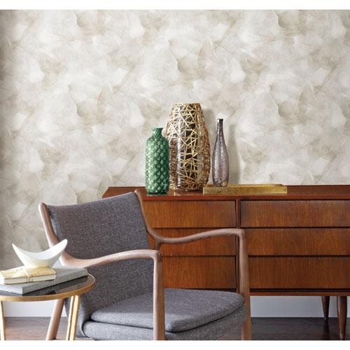 Watercolor Silk Neutral Peel and Stick Wallpaper