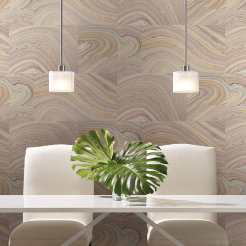 Simply Candice Purple Onyx Peel and Stick Wallpaper