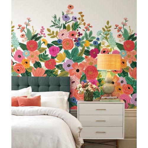 Rifle Paper Co. Multicolor Garden Party Wall Mural