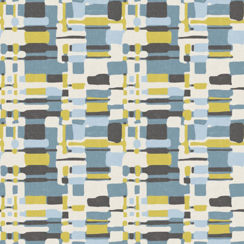 Retro Plaid Blue And Green Peel And Stick Wallpaper