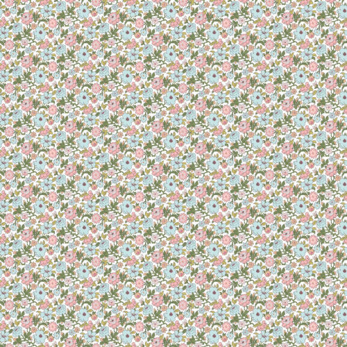 Floral Ditzy Vine Peel and Stick Wallpaper