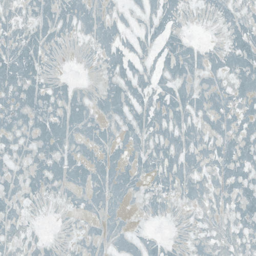 Dandelion White Peel and Stick Wallpaper - SAMPLE SWATCH ONLY