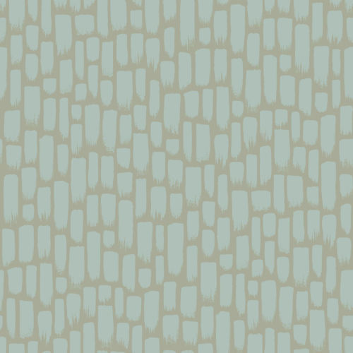 Sumi-E Green And Taupe Peel And Stick Wallpaper