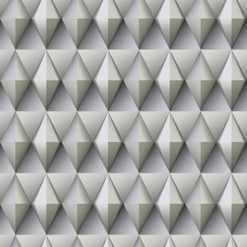Paragon Geometric Gray And Taupe Peel And Stick Wallpaper – SAMPLE SWATCH ONLY