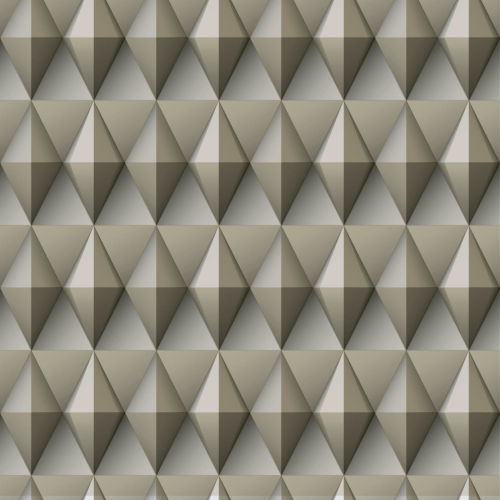 Paragon Geometric Brown And Gray Peel And Stick Wallpaper