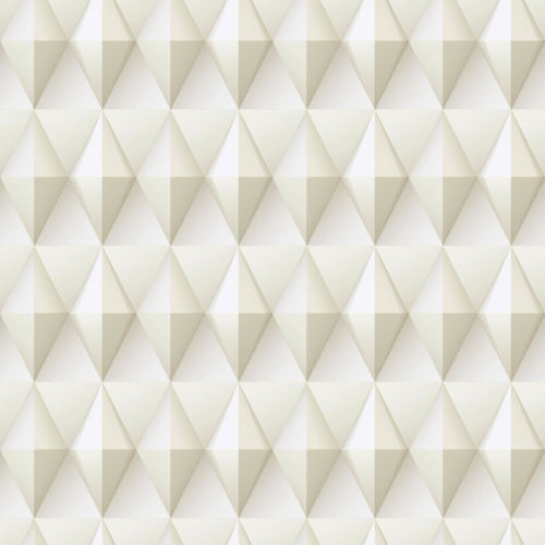 Paragon Geometric Taupe And White Peel And Stick Wallpaper