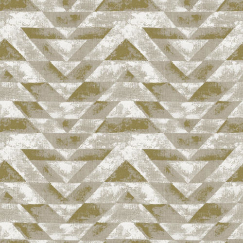 Southwest Geometric Gold And Gray Peel And Stick Wallpaper – SAMPLE SWATCH ONLY