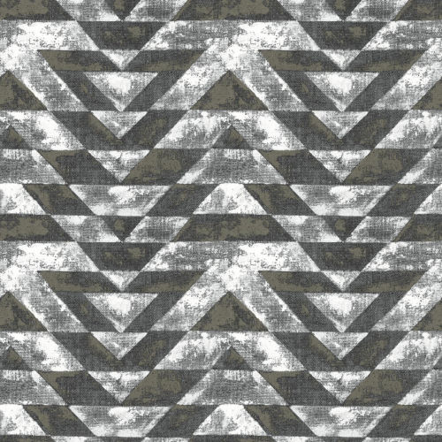 Southwest Geometric Black And Gold Peel And Stick Wallpaper