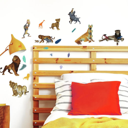 The Lion King Character Brown Peel and Stick wall Decal