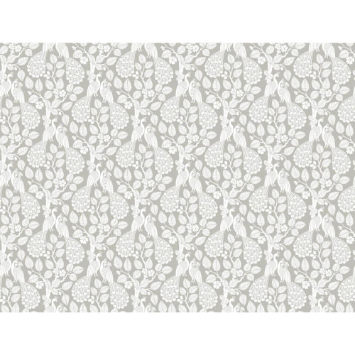 Small Prints Resource Library Gray Two-Inch Plumage Wallpaper