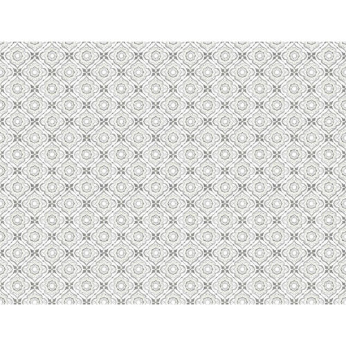 Small Prints Resource Library Gray Two-Inch Zellige Tile Wallpaper - SAMPLE SWATCH ONLY