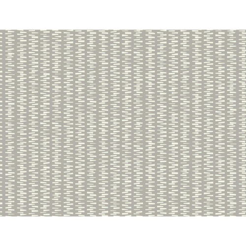 Small Prints Resource Library Taupe Two-Inch Stacked Stripe Wallpaper - SAMPLE SWATCH ONLY