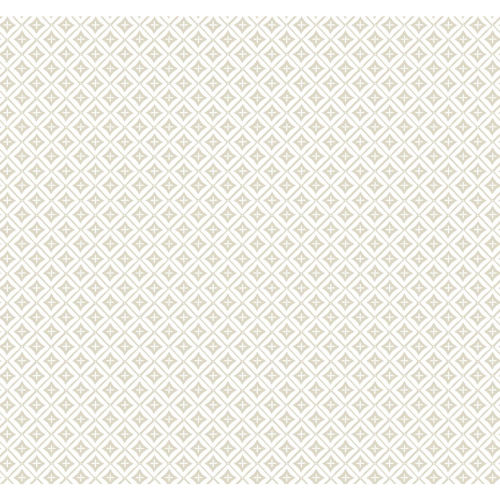 Small Prints Resource Library Beige Two-Inch Polaris Wallpaper
