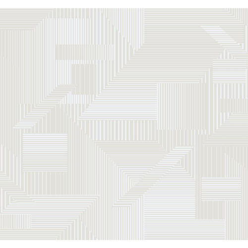 Stripes Resource Library Beige and White All Lined Up Wallpaper