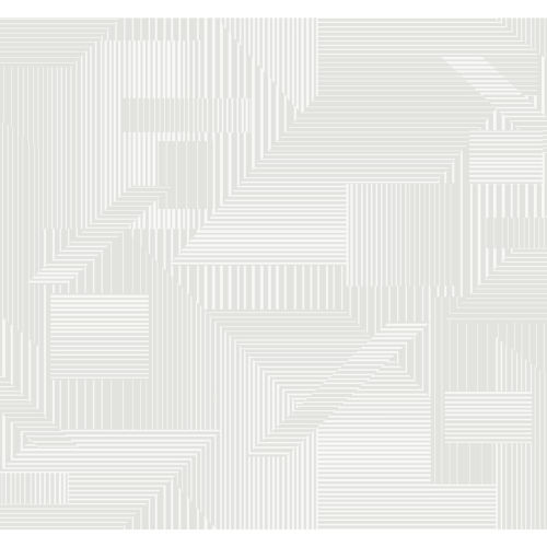 Stripes Resource Library Gray and White All Lined Up Wallpaper
