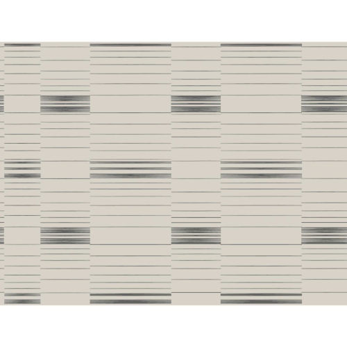 Stripes Resource Library Black and Beige Dashing Stripe Wallpaper – SAMPLE SWATCH ONLY