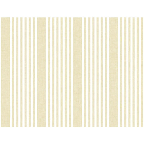 Stripes Resource Library Yellow French Linen Stripe Wallpaper – SAMPLE SWATCH ONLY