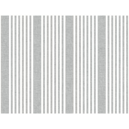 Stripes Resource Library Charcoal French Linen Stripe Wallpaper