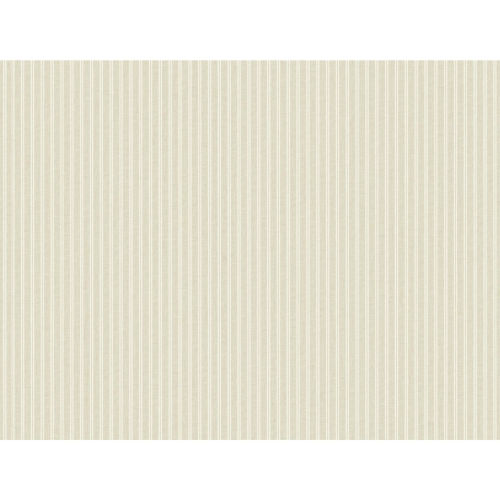 Stripes Resource Library Beige New Ticking Stripe Wallpaper