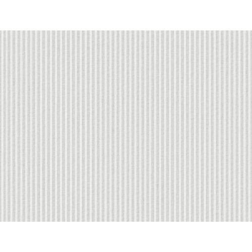 Stripes Resource Library Gray New Ticking Stripe Wallpaper – SAMPLE SWATCH ONLY