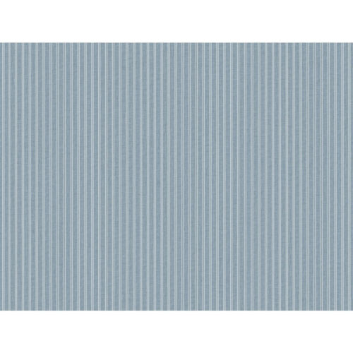 Stripes Resource Library Blue New Ticking Stripe Wallpaper – SAMPLE SWATCH ONLY