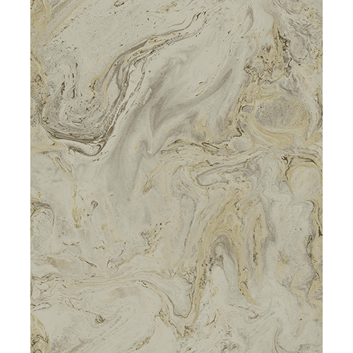 Antonina Vella Natural Opalescence Mink and Gold Oil and Marble Wallpaper