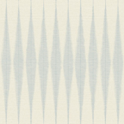 Magnolia Home Handloom Baby Blue Wallpaper - SAMPLE SWATCH ONLY