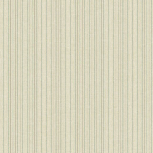Magnolia Home French Ticking Khaki and Light Blue Wallpaper - SAMPLE SWATCH ONLY