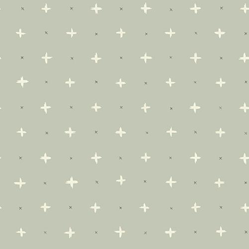 Cross Stitch Grey Wallpaper