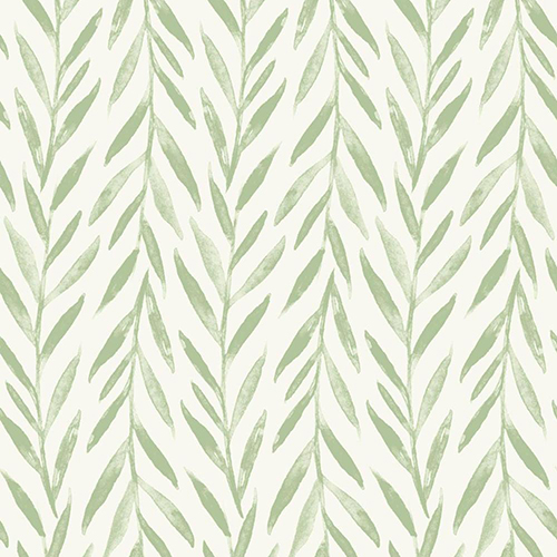 Willow Green Wallpaper
