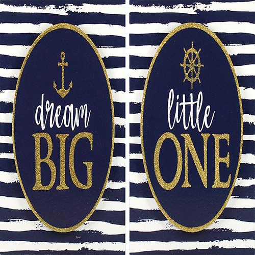 Dream Big Little One, Boxed Plaque, Set of Two