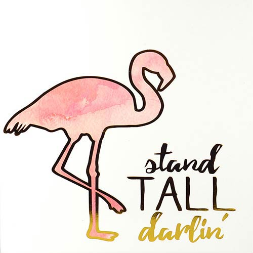 Stand Tall Darlin Boxed Plaque