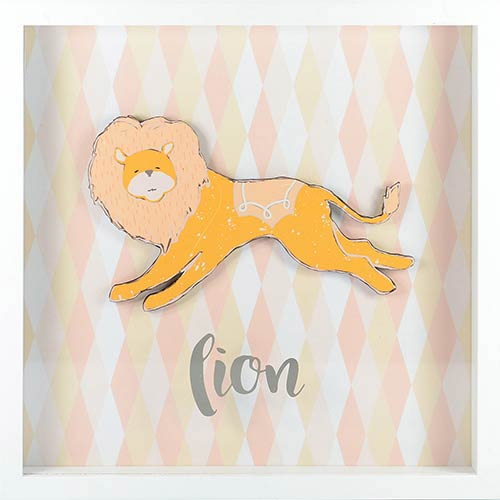 Lion Shadowbox