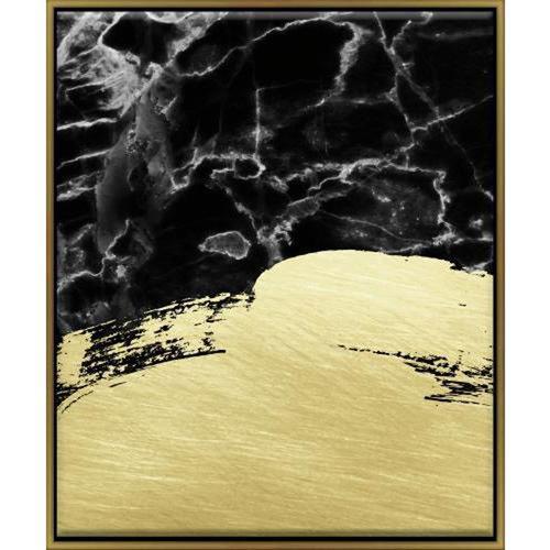 Marble Brushstrokes 16 x 20 In. Framed Wall Art