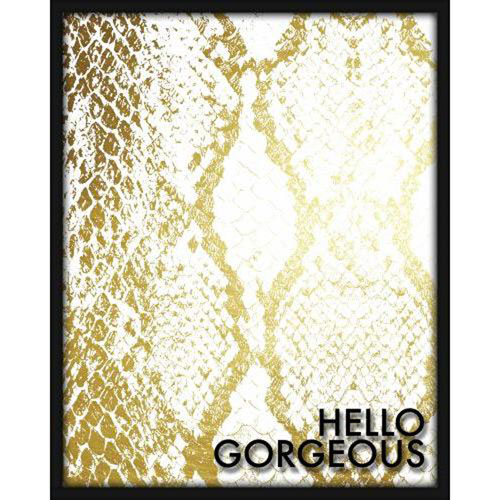 Hello Gorgeous 16 x 20 In. Shadowbox Wall Art