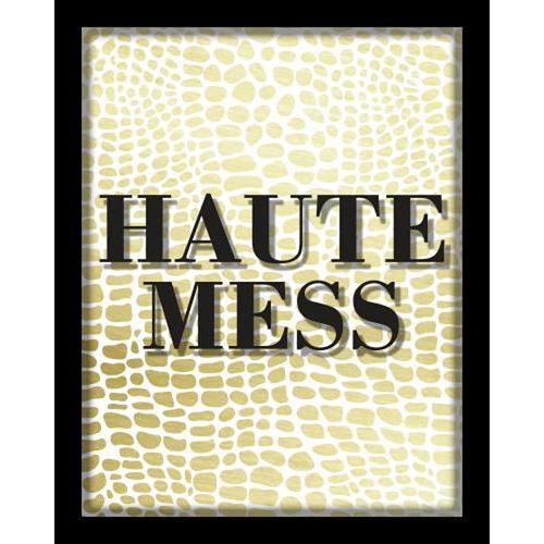 Linden Ave Haute Mess 8 x 10 In. Shadowbox Wall Art