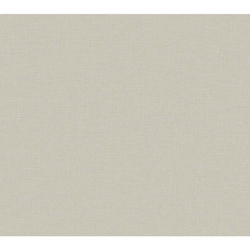 York Wallcoverings Windermere Rich Cream, White and Palest Taupe Dayton Wallpaper: Sample Swatch Only