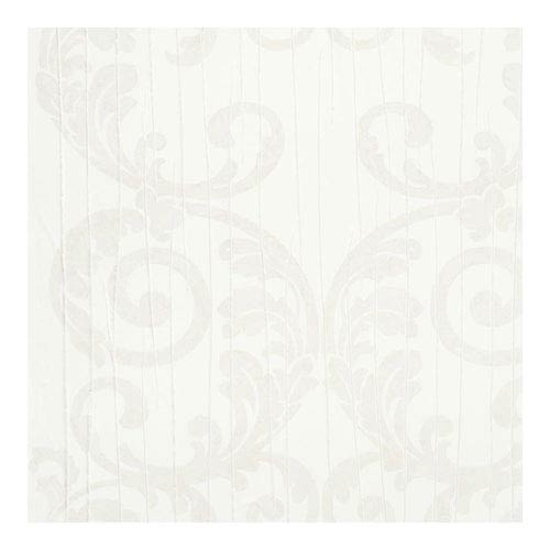 Crush Pleat Medallion Wallpaper- Sample Swatch Only