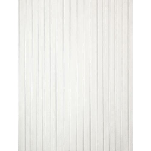 York Wallcoverings Barbara Becker Raised Surface Tuxedo Pin Tuck Stripe Wallpaper: Sample Swatch Only