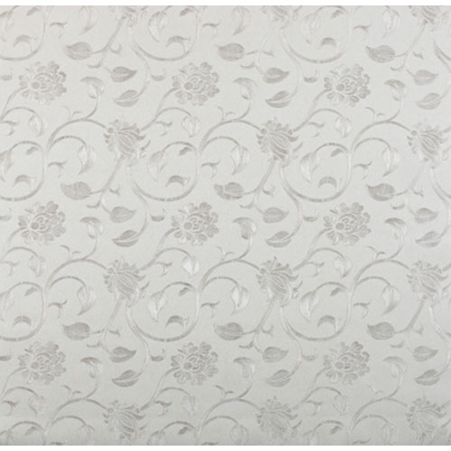 York Wallcoverings Opulence Floral Swirl Wallpaper: Sample Swatch Only