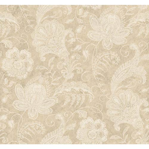 York Wallcoverings Inspired by Color Champagne Wallpaper: Sample Swatch Only
