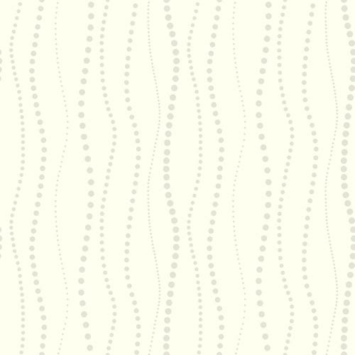 York Wallcoverings Ashford Black, White and Gray Wallpaper: Sample Swatch Only
