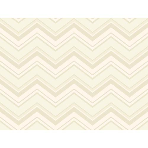 York Wallcoverings Ashford Black, White Heavy Cream, Beige, Tan and Taupe Wallpaper: Sample Swatch Only