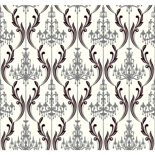 Ashford Paper White, Black Onyx and Pewter Glitter Wallpaper