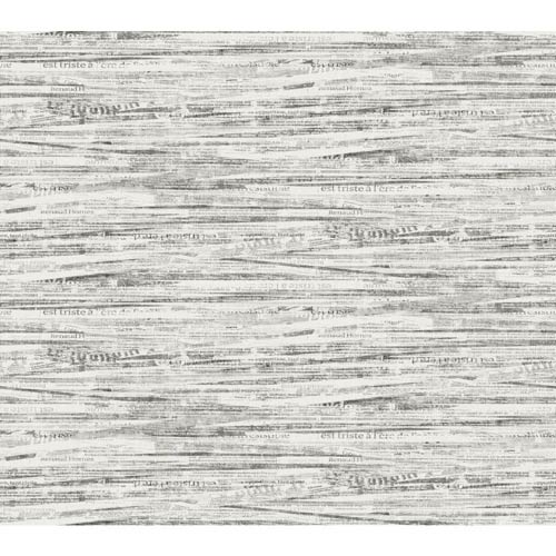 York Wallcoverings Ashford Black, White Palest Gray and Graphite Wallpaper