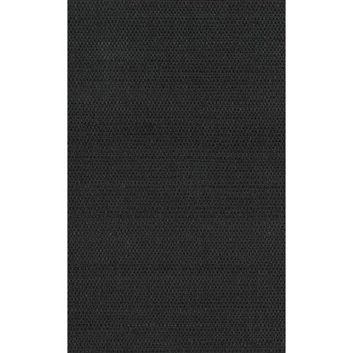 Black Grasscloth Sisal Wallpaper