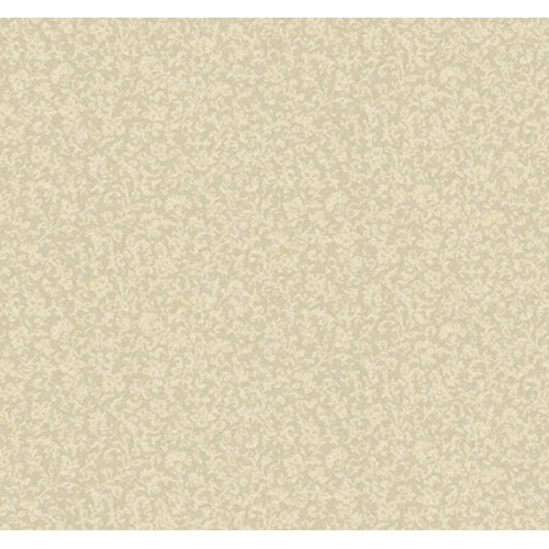 Elegance Soft Gray and Bisque and Hint Of Caramel Leaf And Herringbone Texture Wallpaper: Sample Swatch Only