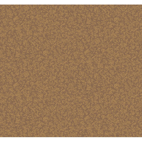 York Wallcoverings Elegance Caramel and Cocoa Leaf And Herringbone Texture Wallpaper: Sample Swatch Only